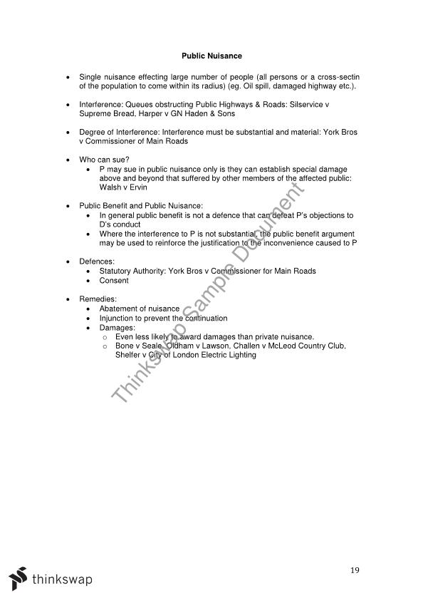 torts exam notes Torts bar essay checklist outline this is a sample of our (approximately) 13 page long torts bar essay checklist notes, which we sell as part of the torts - bar exam outlines collection, a passed ca bar exam on first attempt package written at thomas jefferson school of law in 2011 that contains (approximately) 35 pages of notes across 4 .