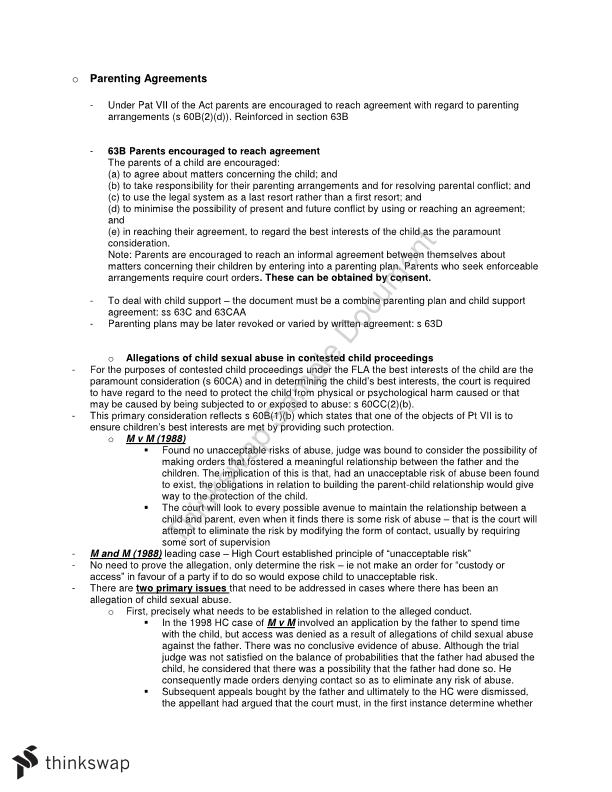 Family Law notes - Page 17