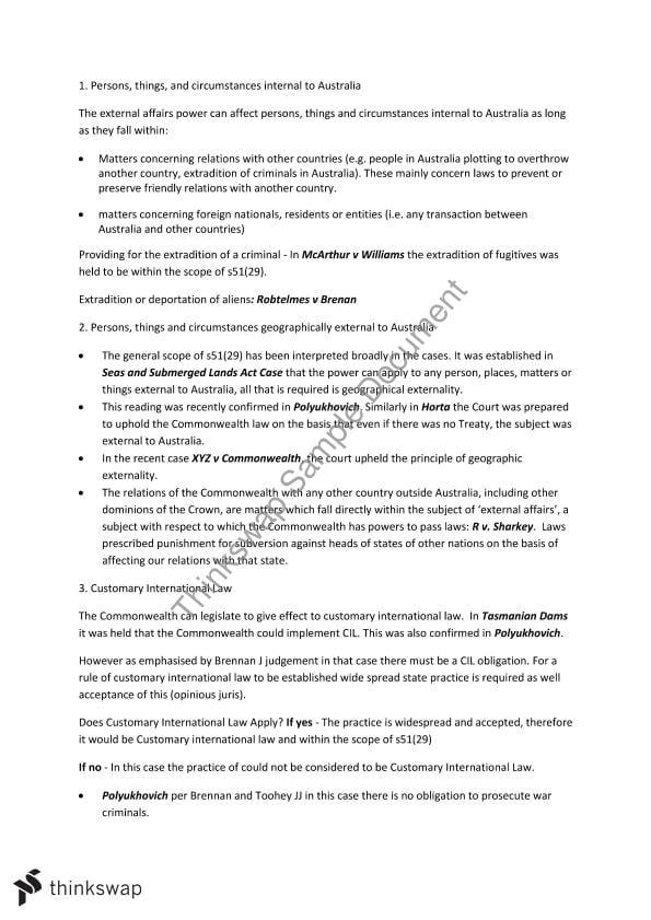 Australia bill of rights essay