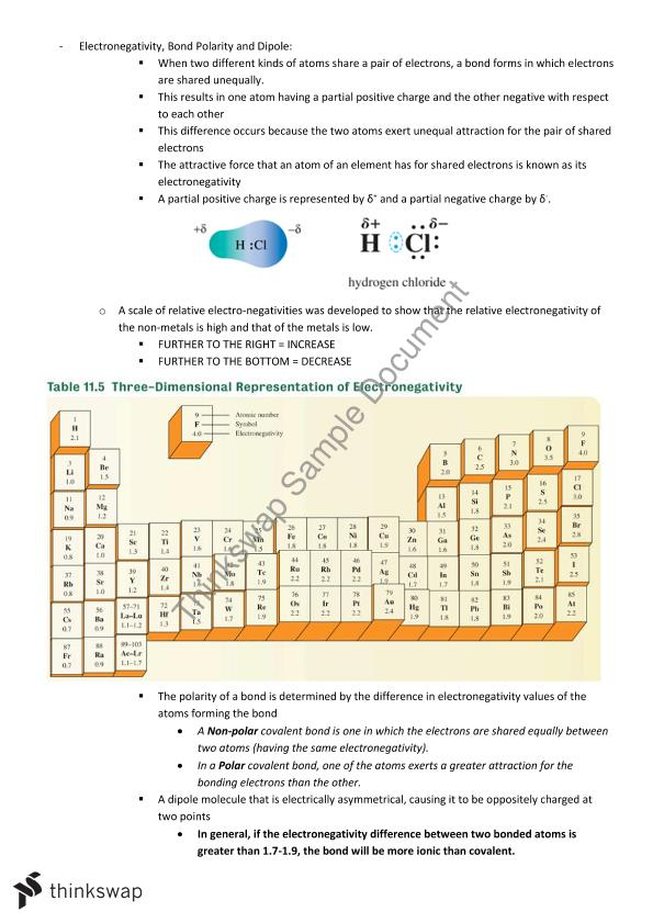 Essentials of Chemistry and Physics   1001MSC - Chemistry of