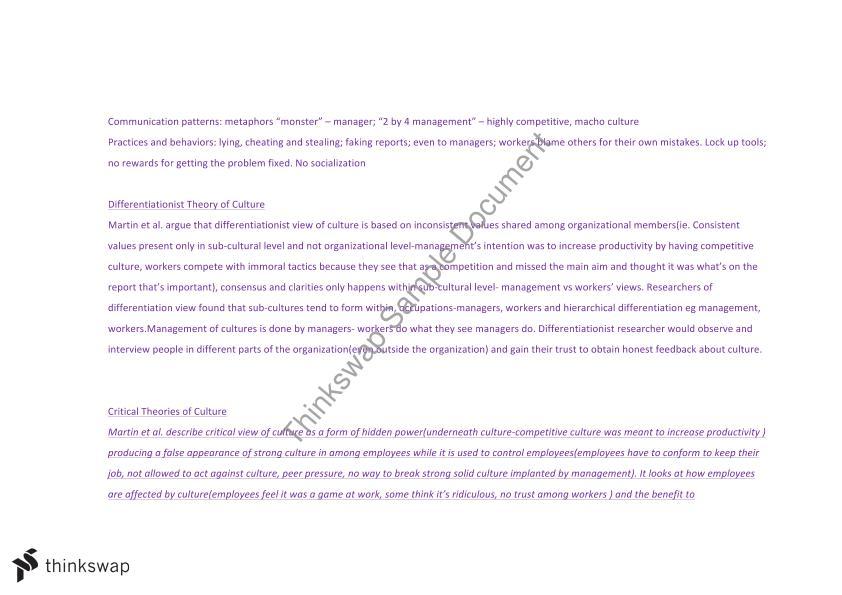 Organisational behaviour final exam notes | MGMT20001