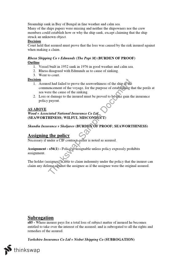 International Contracts Full Exam Notes - 1001GIR