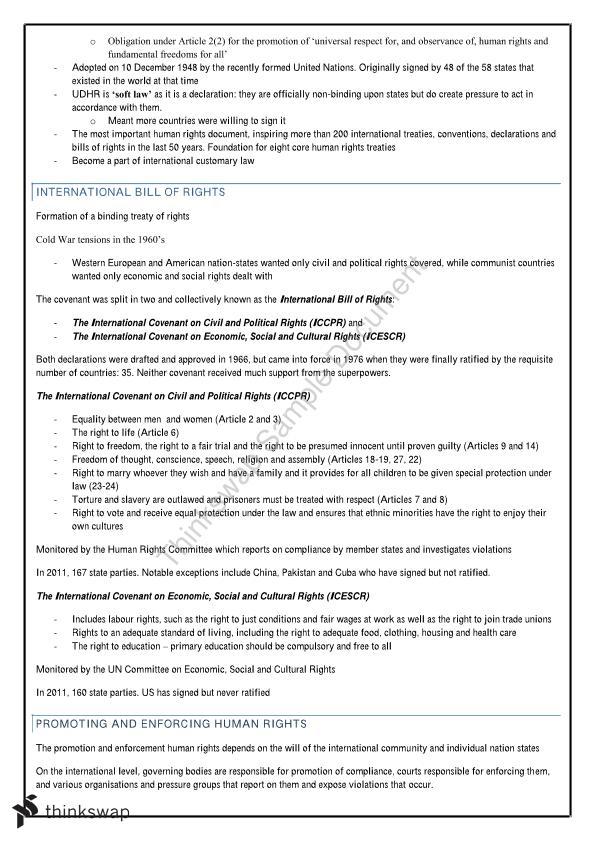 Legal Studies Year 12 Notes | Year 12 HSC - Legal Studies