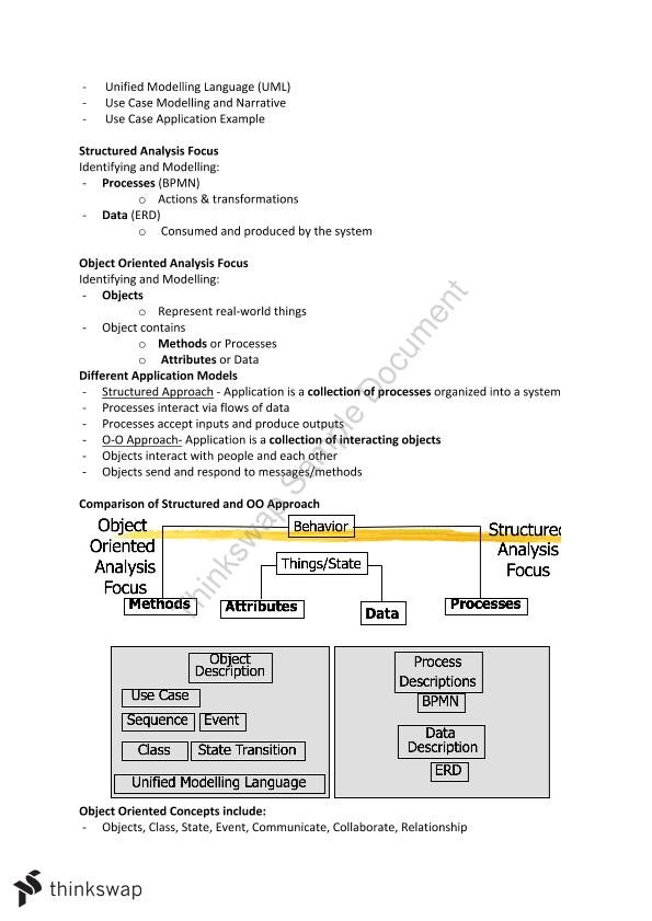 requirement modeling in software engineering pdf