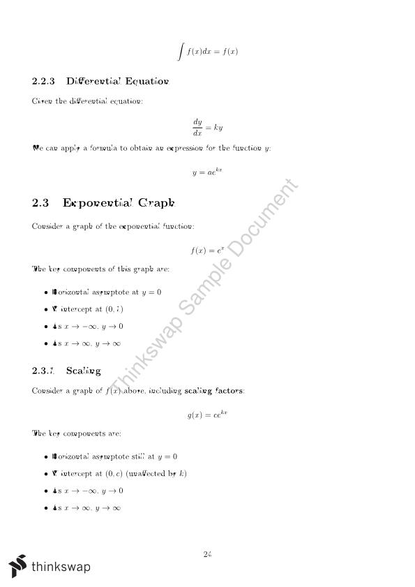 Mathematical Methods Comprehensive Notes