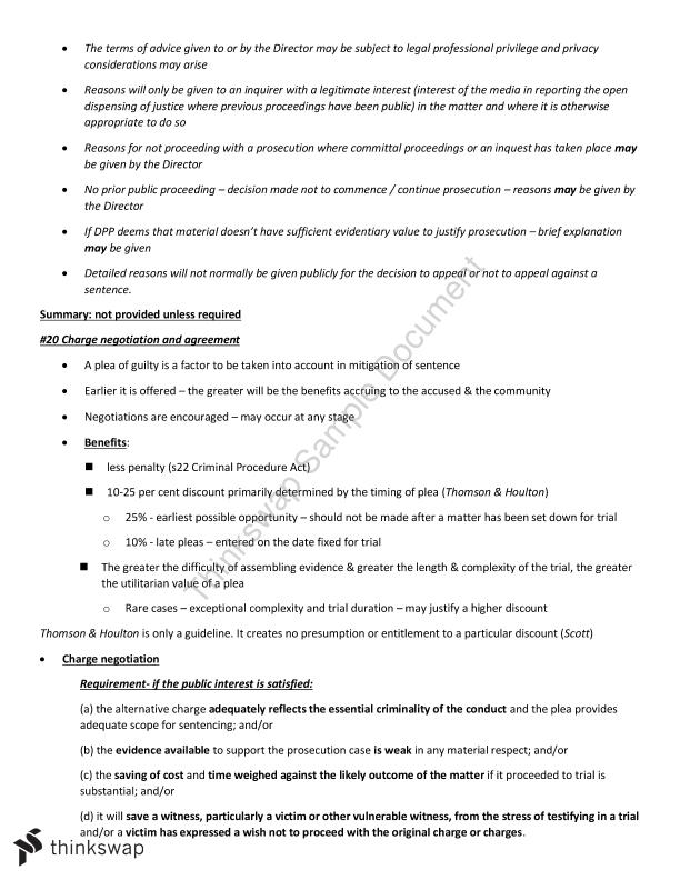 Civil and Criminal Procedures Summary - Page 21