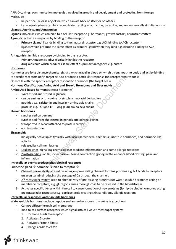 1014MSC Complete Study Notes