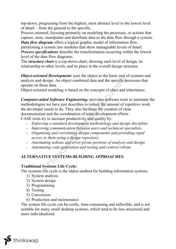 Information Systems in Business, Full Textbook Notes - Page 37
