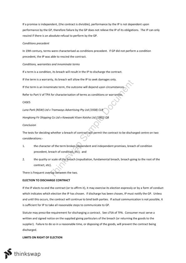 Contract Law Exam Notes - Page 29