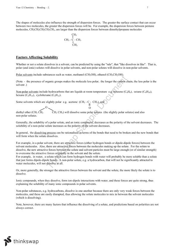 Bonding Notes - Chemistry - Page 18