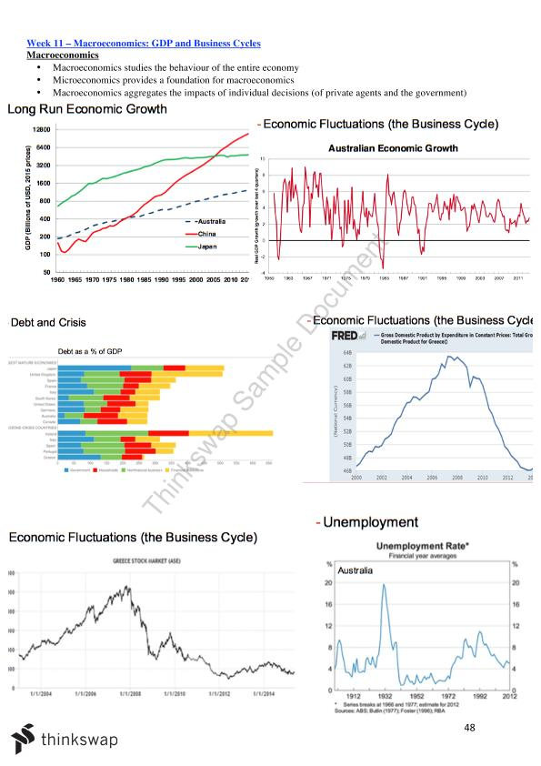 Lecture Notes - Economics for Business Decision Making