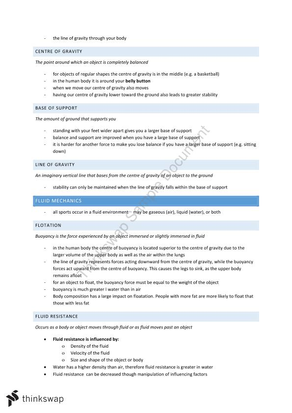 Year 11 PDHPE NOTES | Year 11 HSC - Studies of Religion II