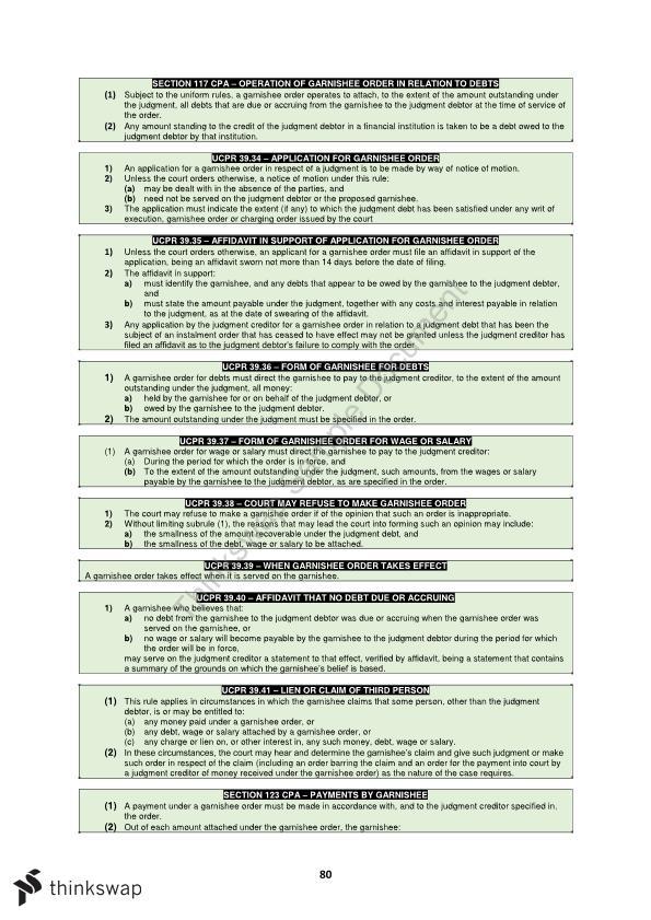 Civil Procedure and Arbitration (Legislation and Cases