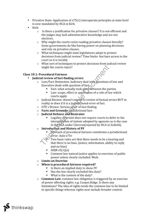 indian administrative law notes pdf