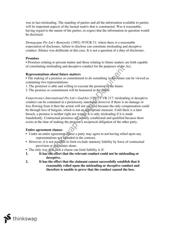 Contract law b study notes llb170 law of contract b for B b contract