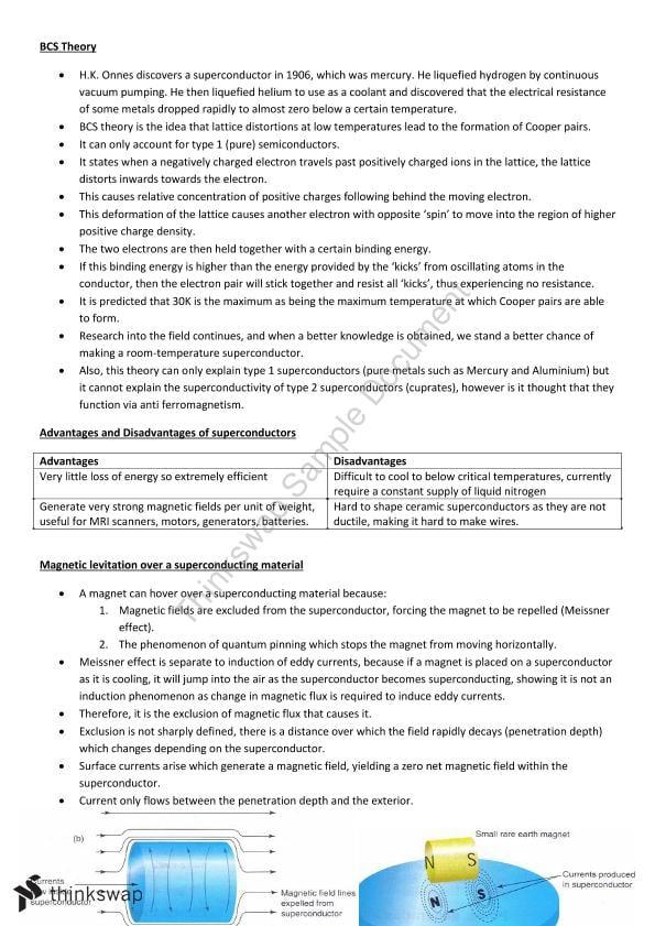Physics Study Notes