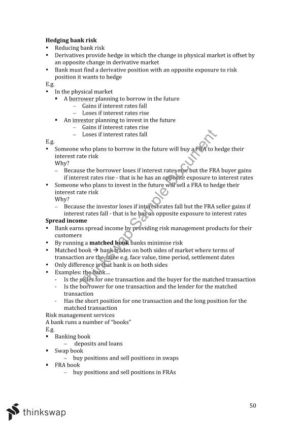 monash banking and finance pdf
