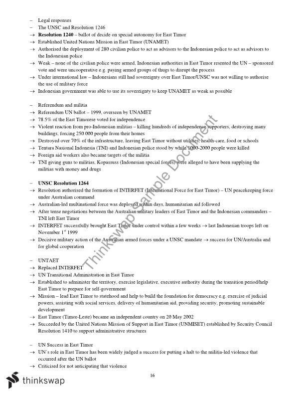World order essays for legal studies