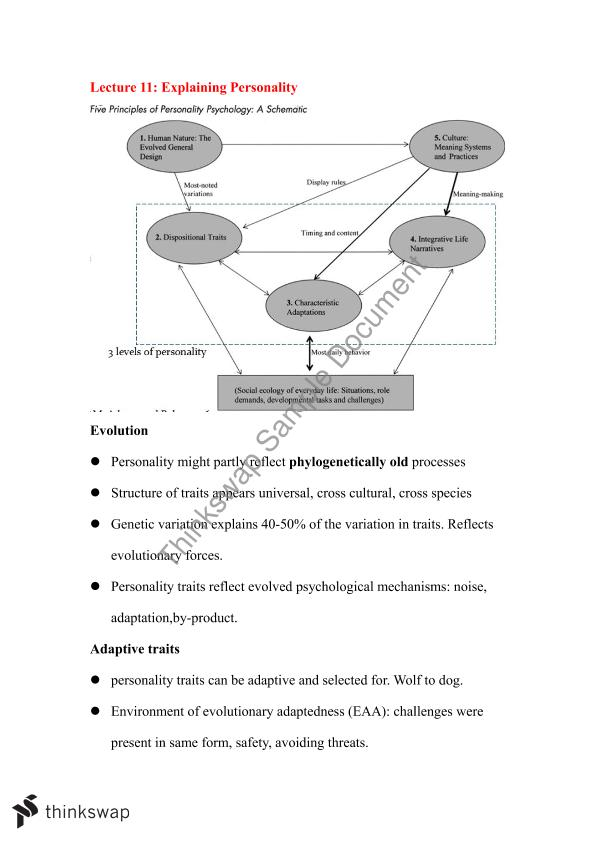 PSYC20009 - Personality and Social Psychology