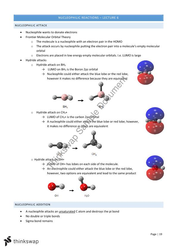 Molecular Orbital Notes