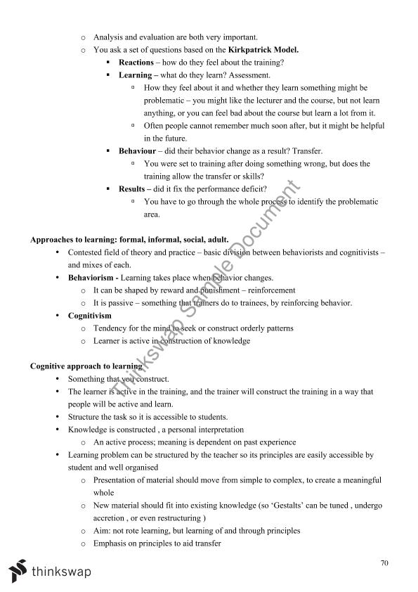 MGMT2718 - Full Summary Notes