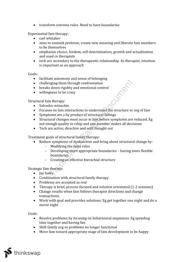Introduction to Counselling - Exam Notes (PSY3120)