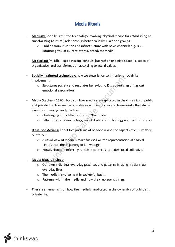 Complete Notes for the Arts 1090 MCQ Exam
