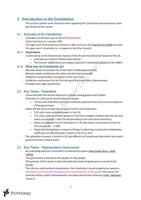 Federal Constitutional Law Final Exam Notes - Page 7