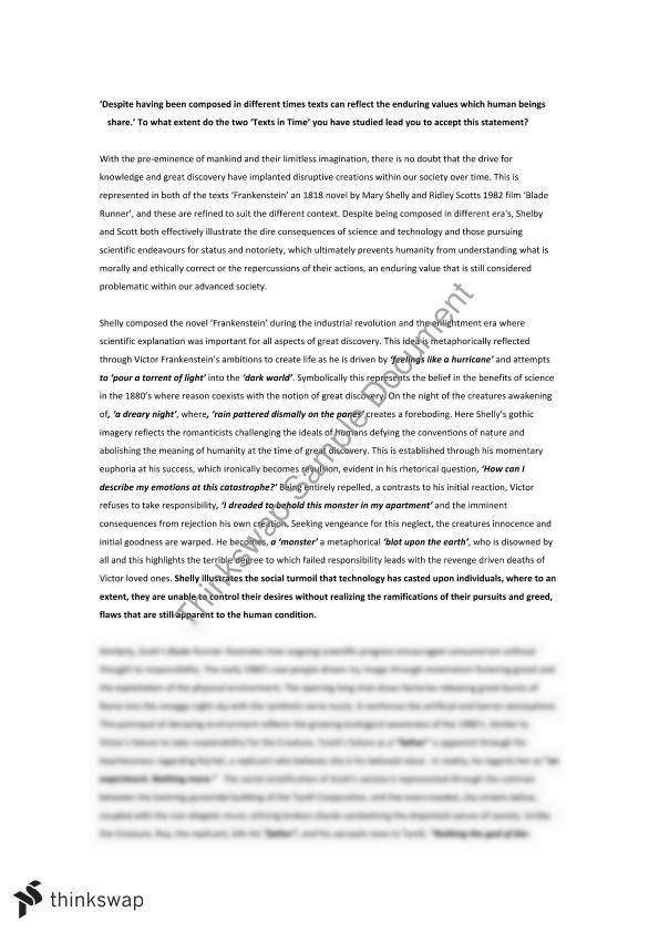 Frankenstein blade runner essay free help with my rhetorical analysis essay online