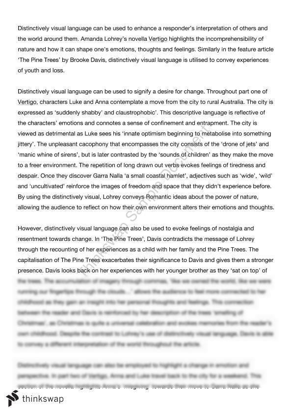 Vertigo essay best best essay ghostwriting website for mba
