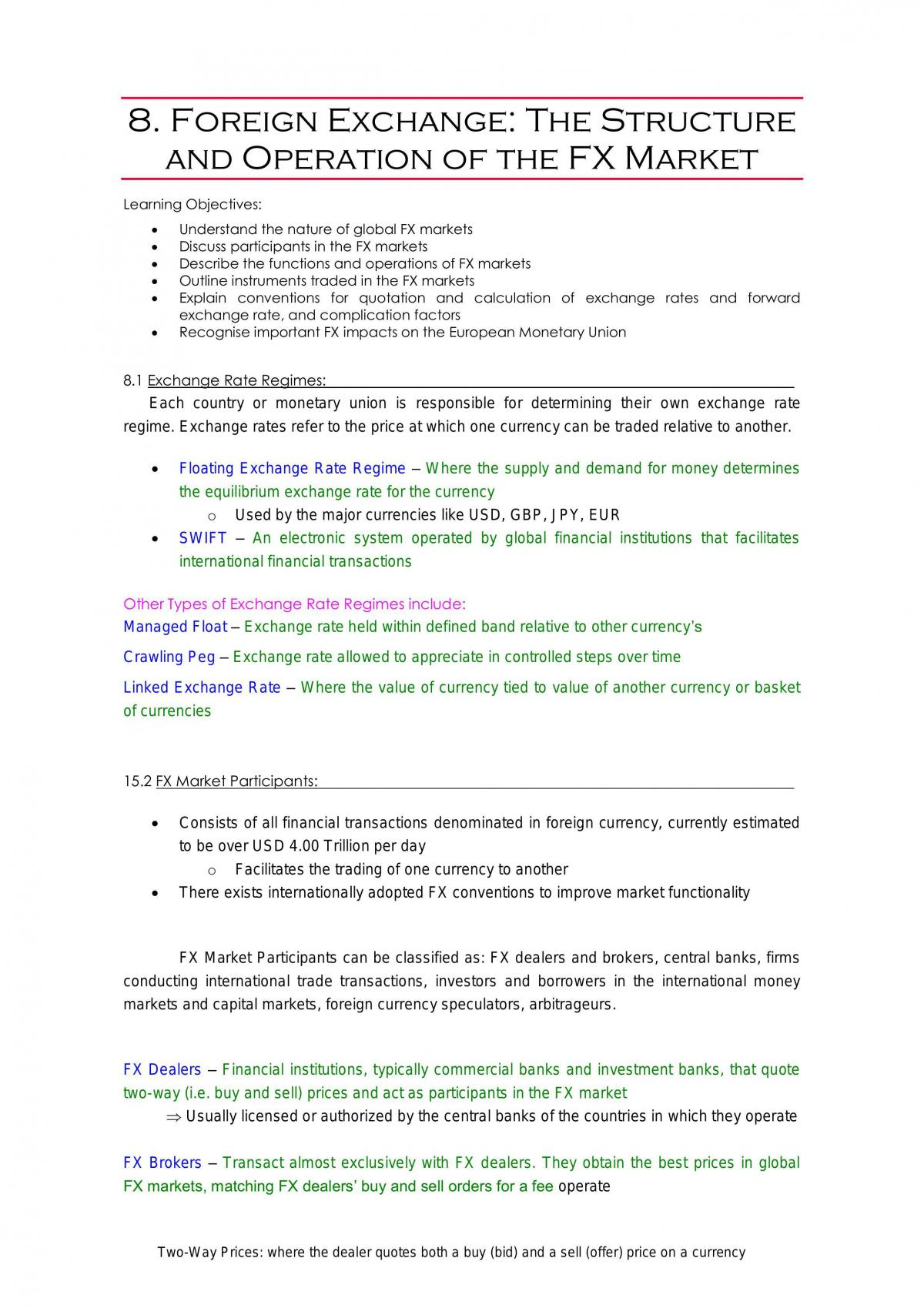 FINS1612 Notes - Page 1