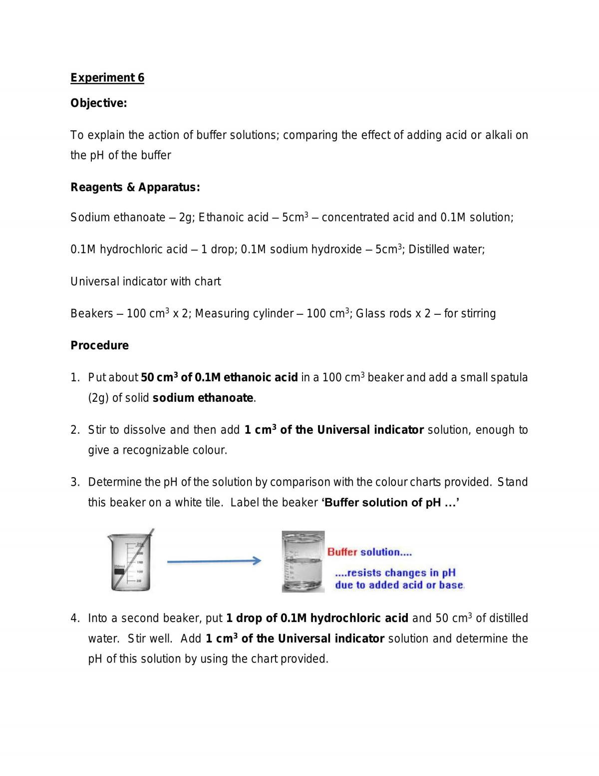 Buffer Solution - Page 1