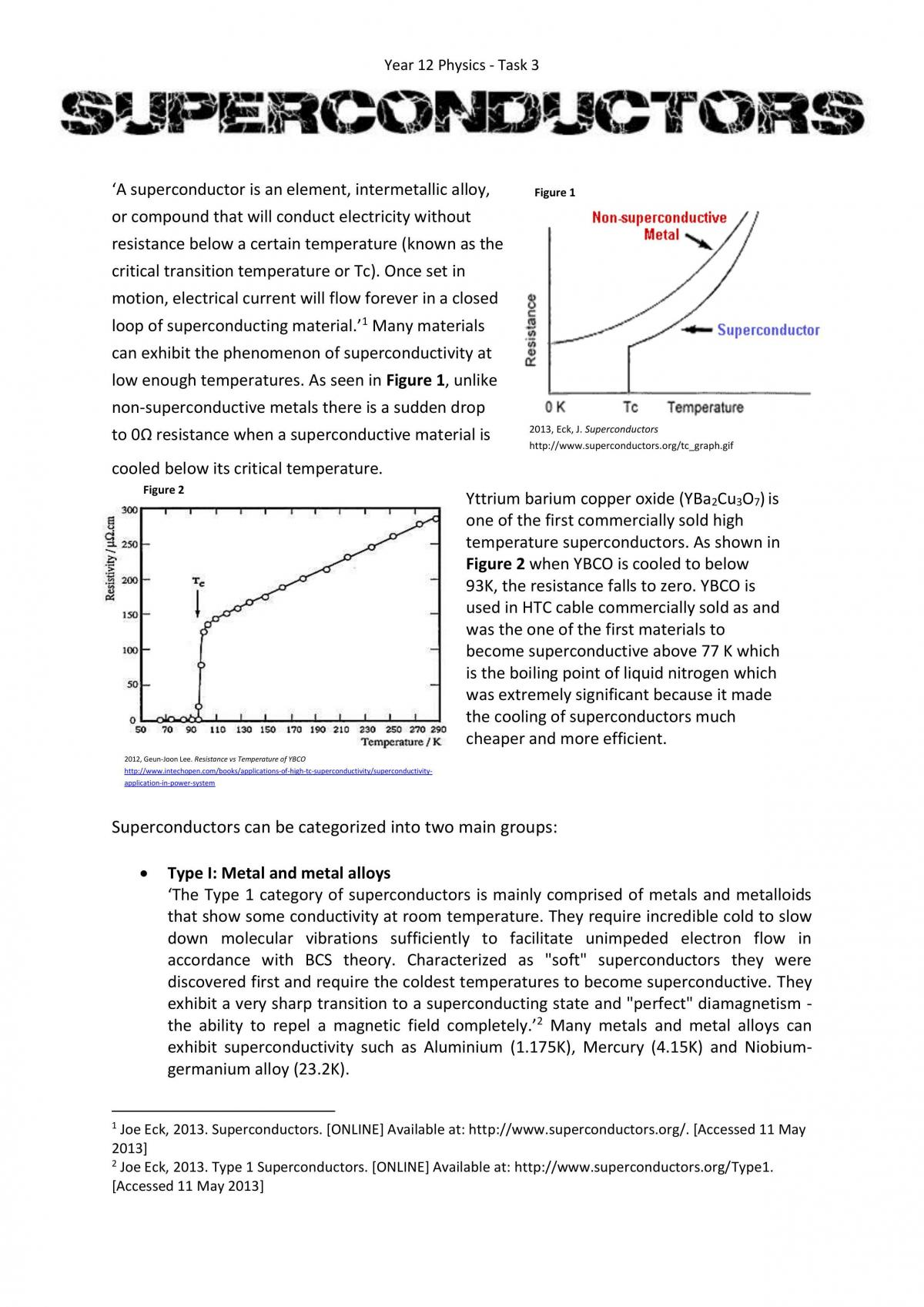 Superconductors - Page 1