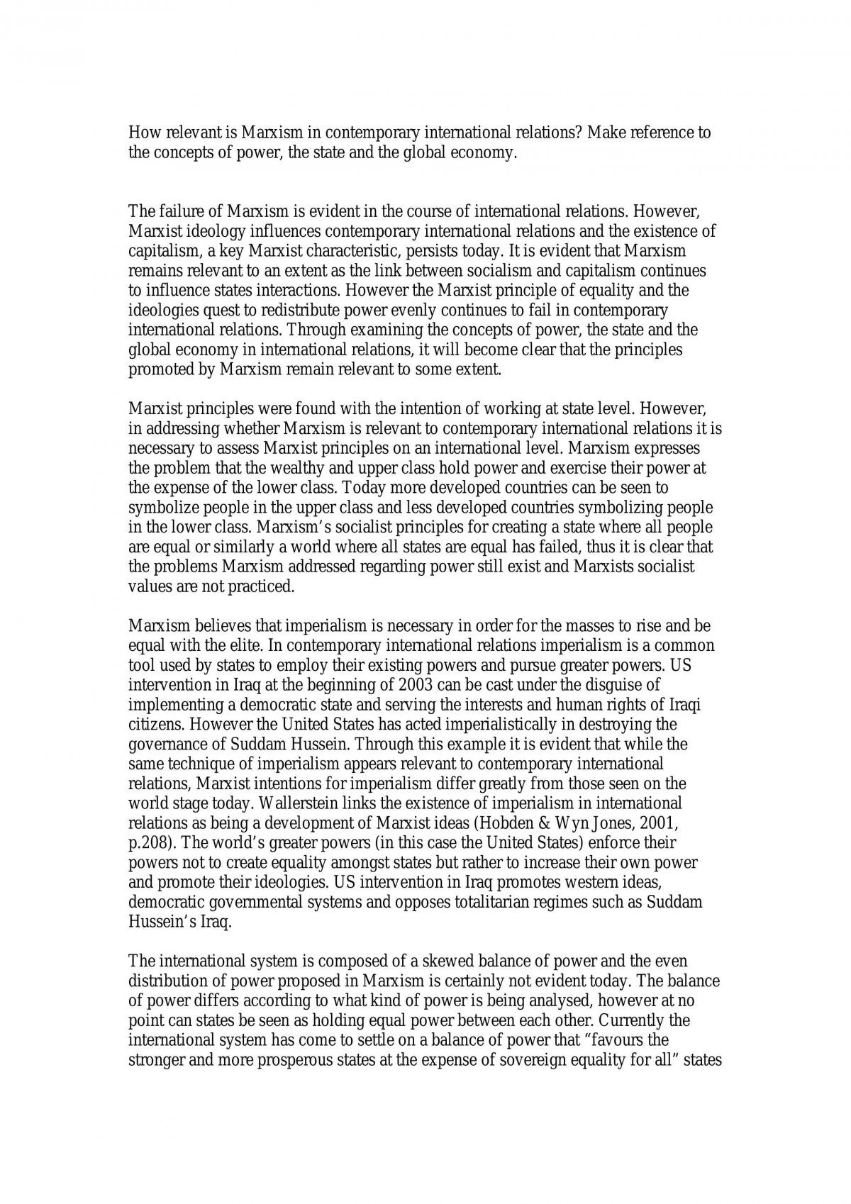 Marxism - Page 1