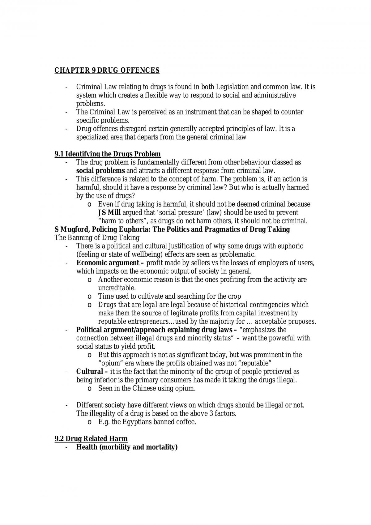 Drugs Summary - Page 1
