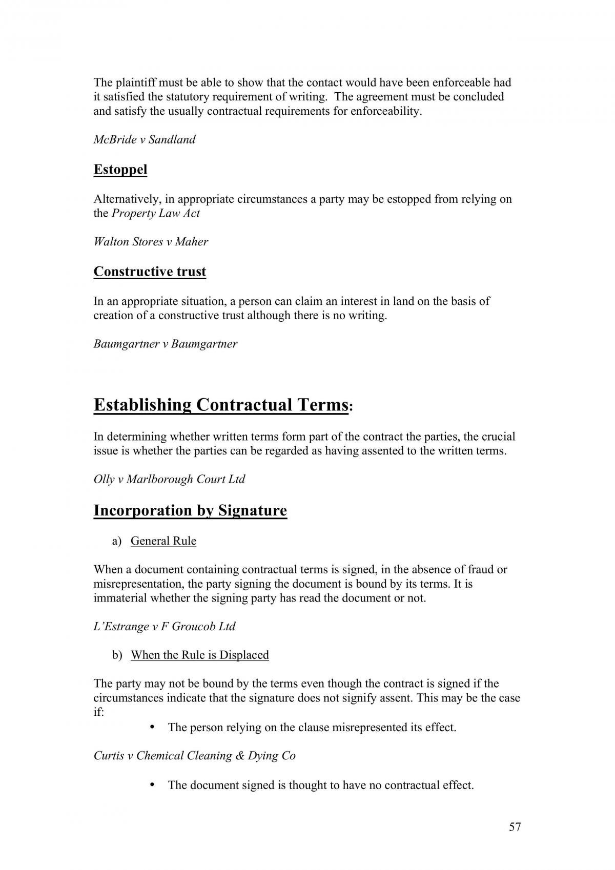 Complete Contracts Notes  - Page 57