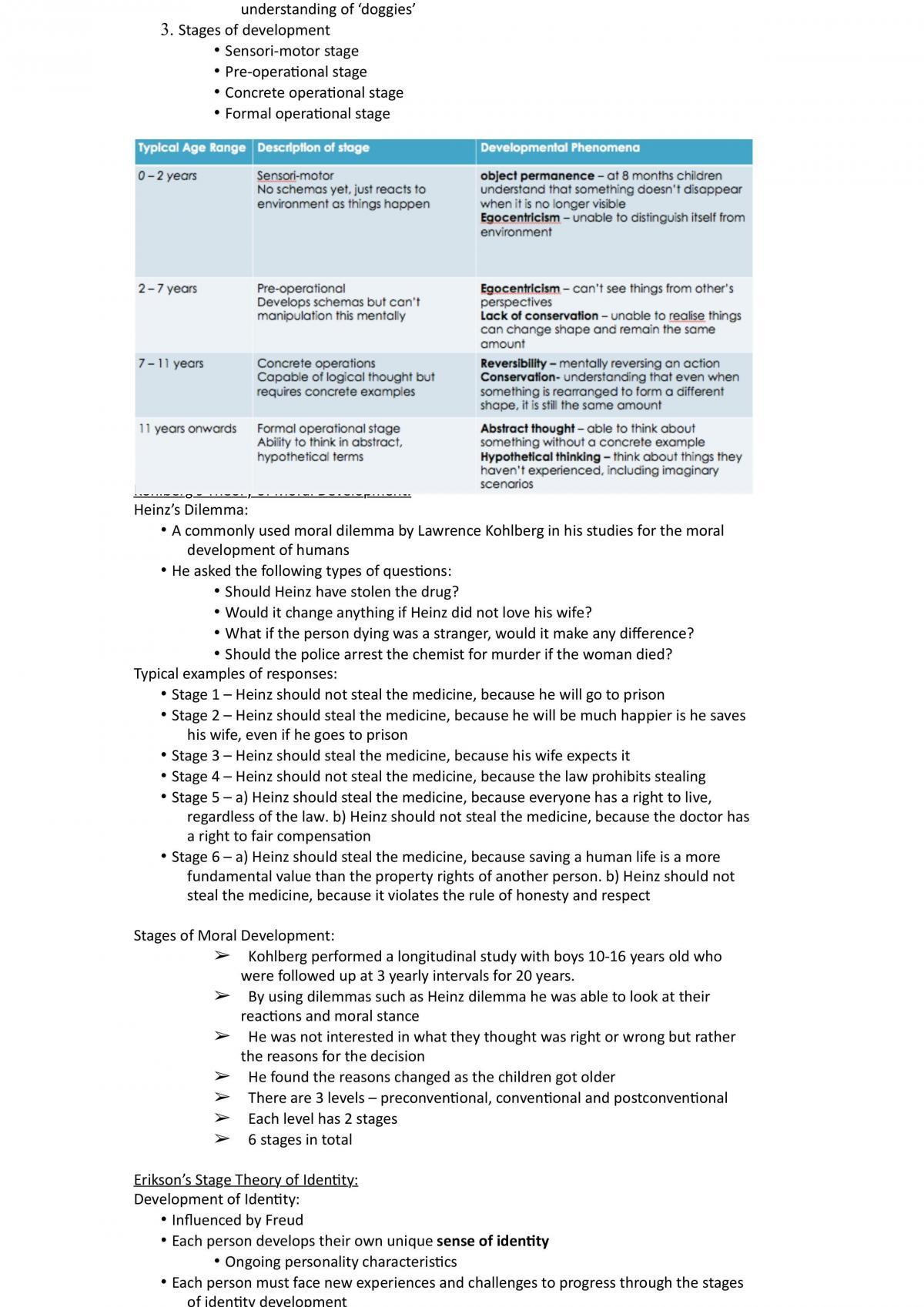 Psychology Unit 3&4 Notes - Page 19