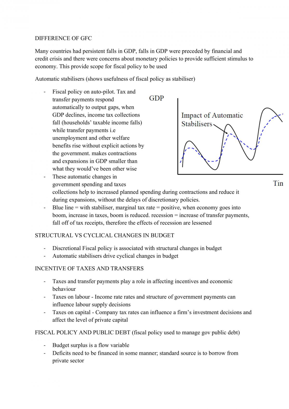 Macroeconomics Full Study Notes - Page 30