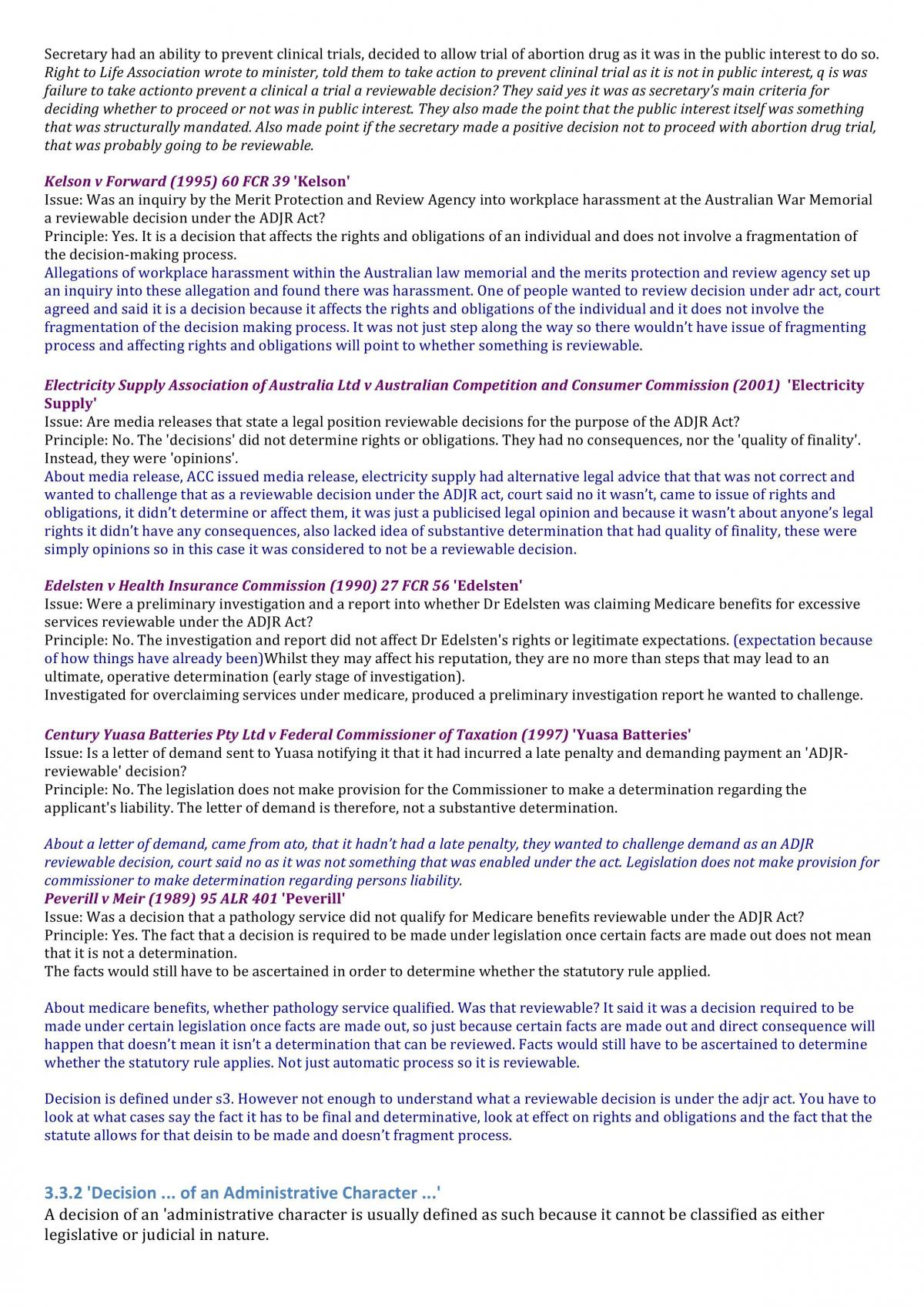 Administrative Law Exam Notes - Page 33