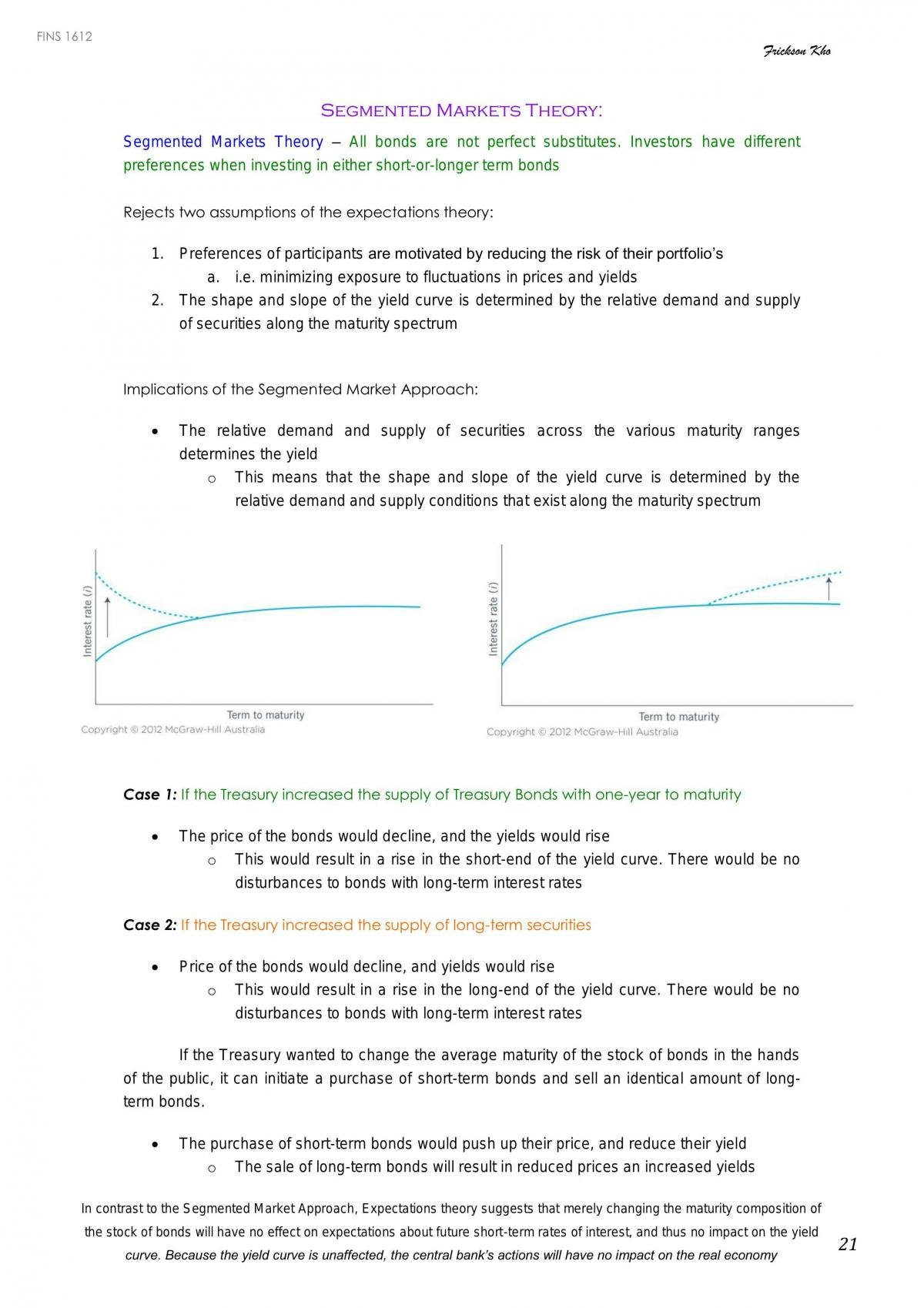 FINS1612 Notes - Page 21