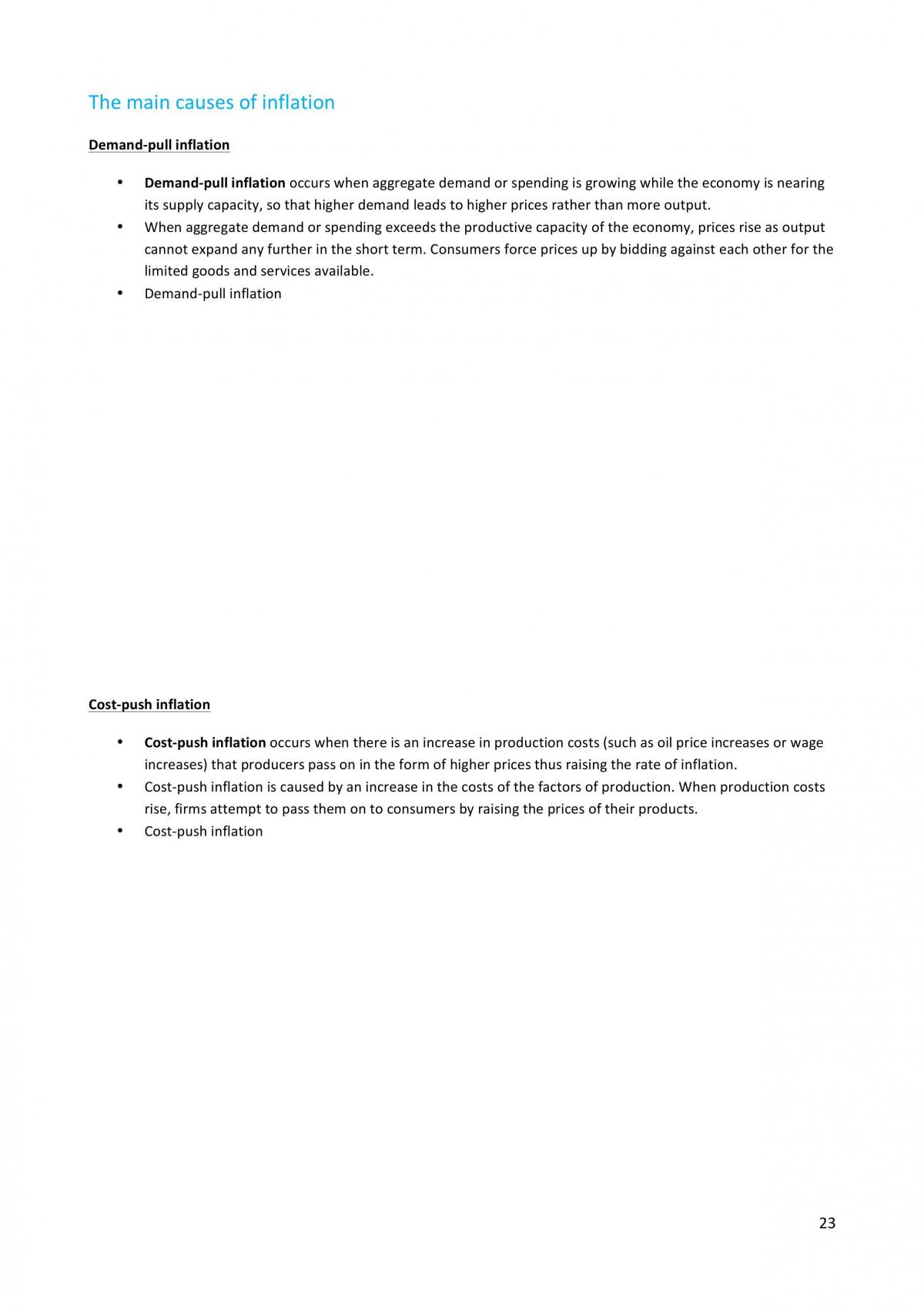 HSC Topic 3 Economic Issues - Page 23