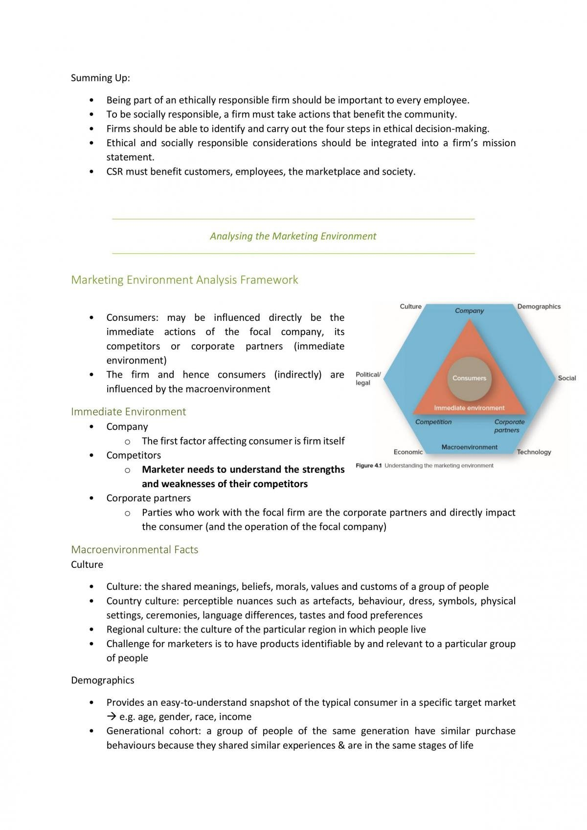 Full Textbook Notes for Marketing Fundamentals - Page 14