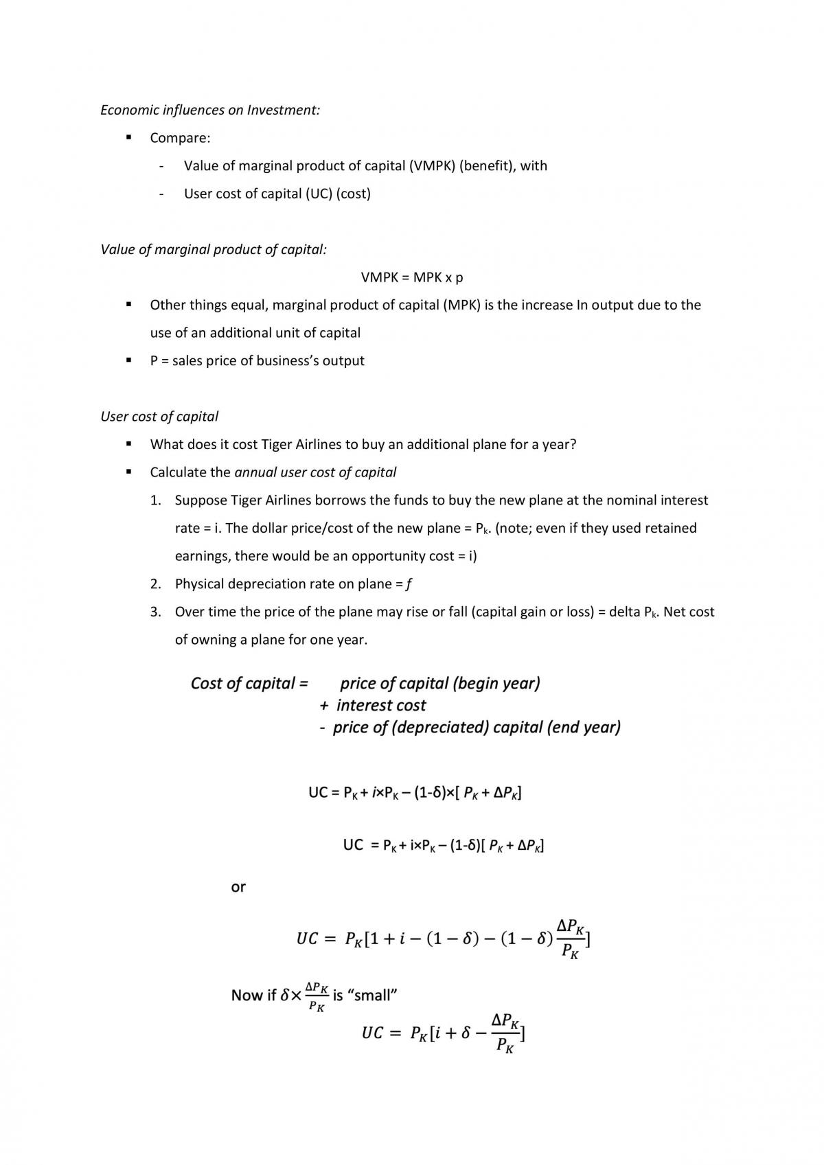 HD ECON1102 Notes - 88/100 - Page 18