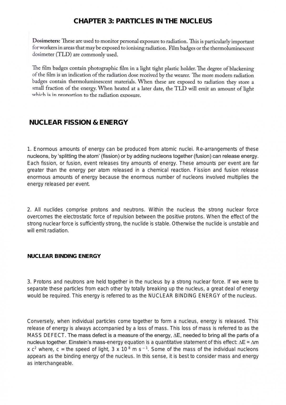 Year 11 Radiation Physics Complete Notes - Page 11