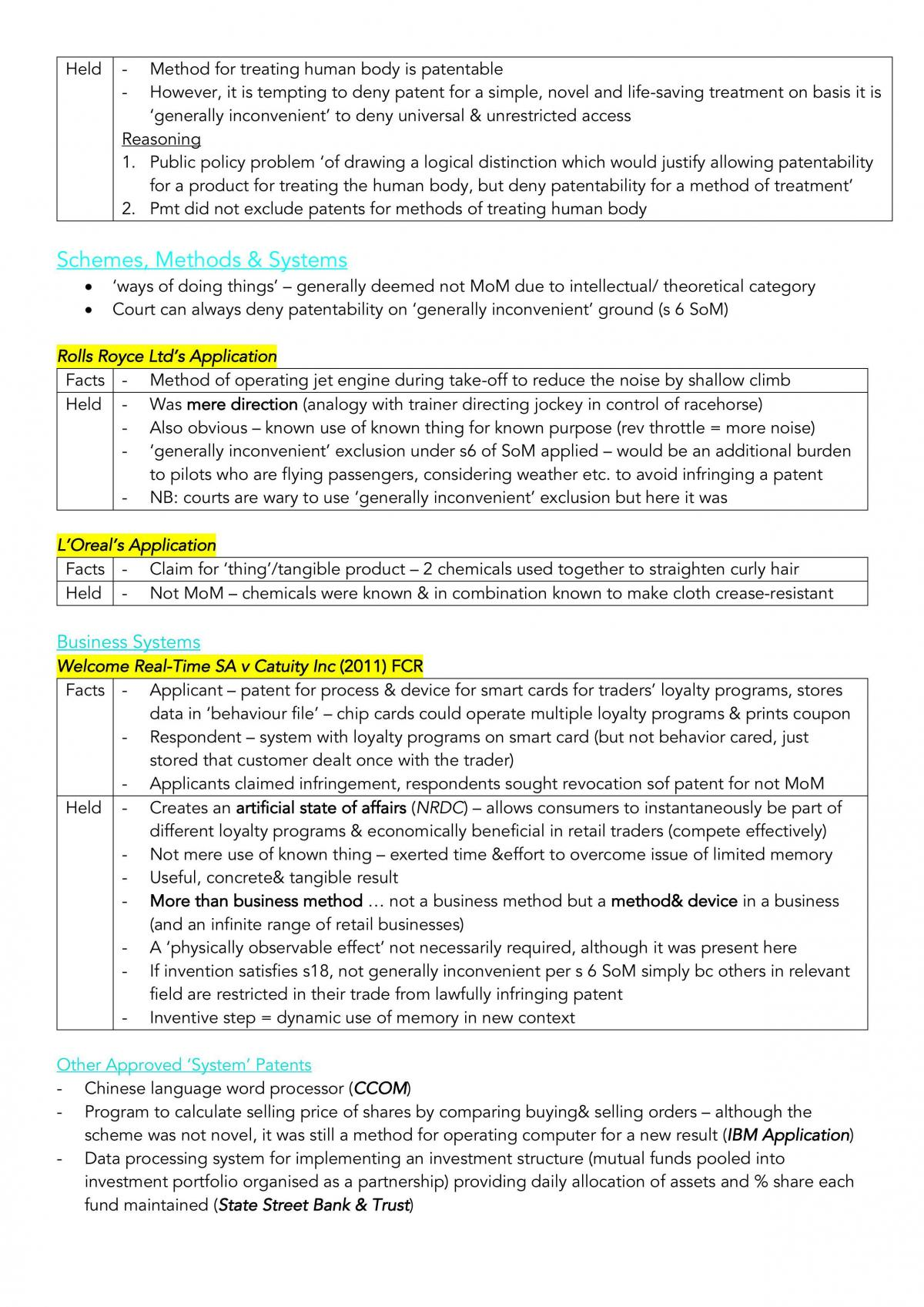 LAW4342 HD Exam Notes - Page 3