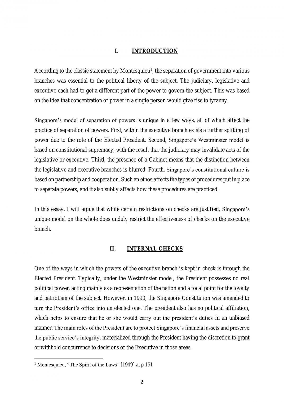 Constitutional Law Essay - Page 2