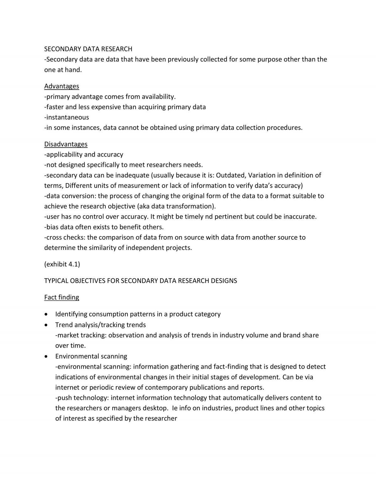 Market Research Study Notes - Page 12