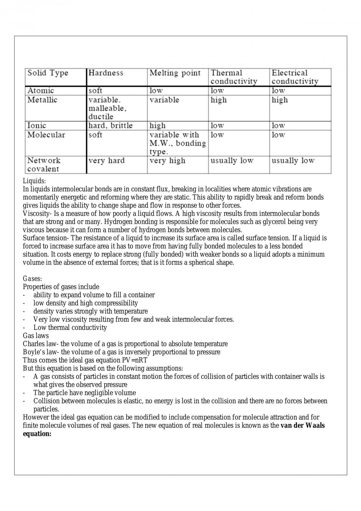 Chemistry-Chem1021 Summaries Up To And Including Equilibrium (About 1St Half Of The Course),  Got 85 Hd. - Page 13