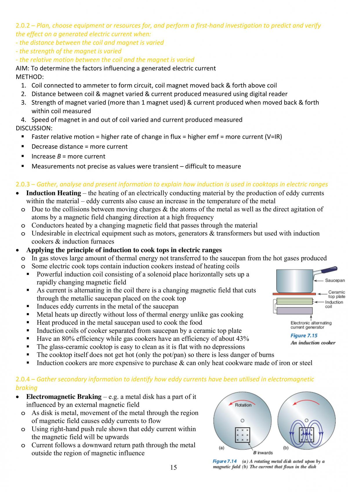 Hsc Physic Syllabus Notes On Motors And Generators - Page 15