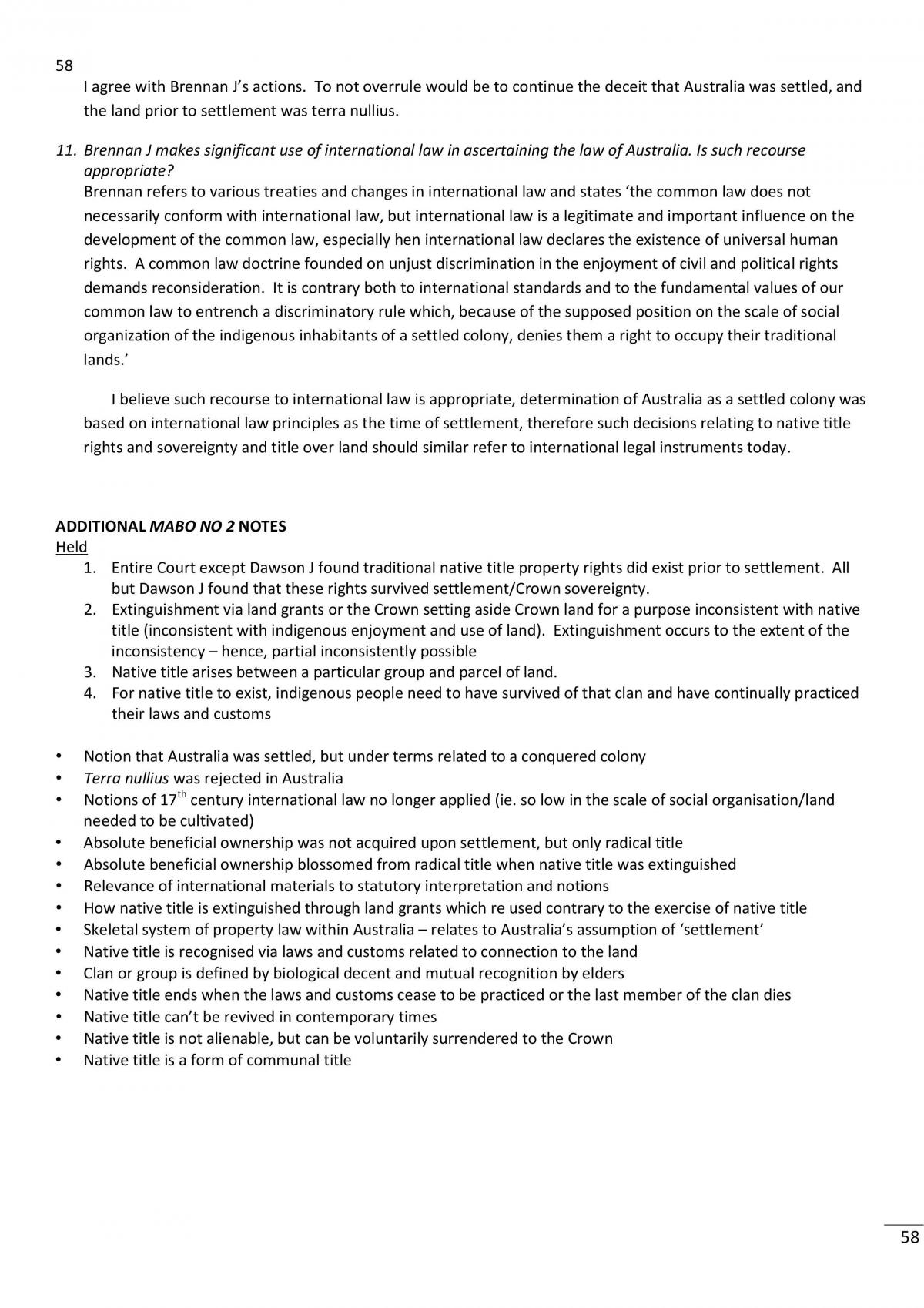 Foundation Of Laws Summary Of Main Topics Of Course - Page 58